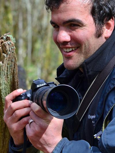 Philip Price, award winning wildlife photographer from Loch Visions.