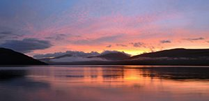 Sunrise on Loch Fyne