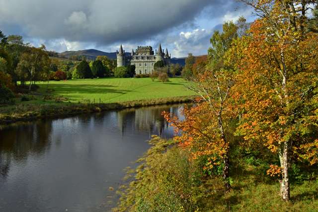 Photograph of Inveraray Castle taken on the World Wide Photo Walk 2014